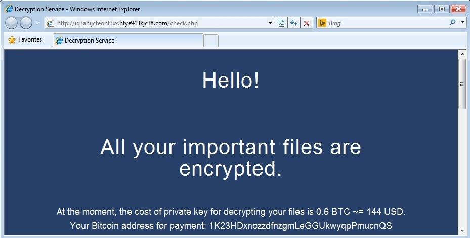 Angler exploit kit pushes new variant of ransomware - SANS ...