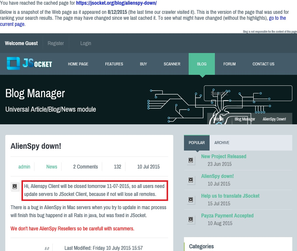 InfoSec Handlers Diary Blog - Adwind: another payload for