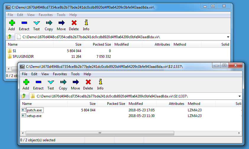 Quick analysis of malware created with NSIS - SANS Internet