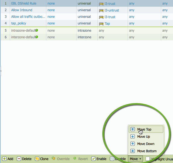 Subscribing to the DShield Top 20 on a Palo Alto Networks Firewall