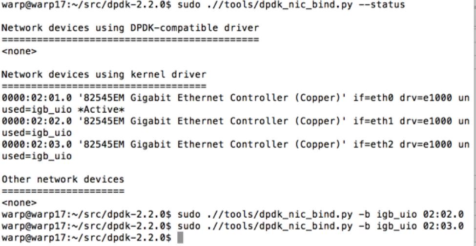 Warp Speed Ahead, L7 Open Source Packet Generator: Warp17 - SANS
