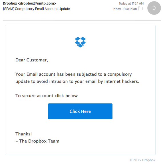 is dropbox secure