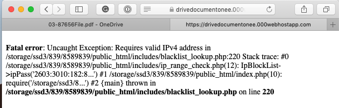 A Not So Well Done Phish (Why Attackers need to Implement