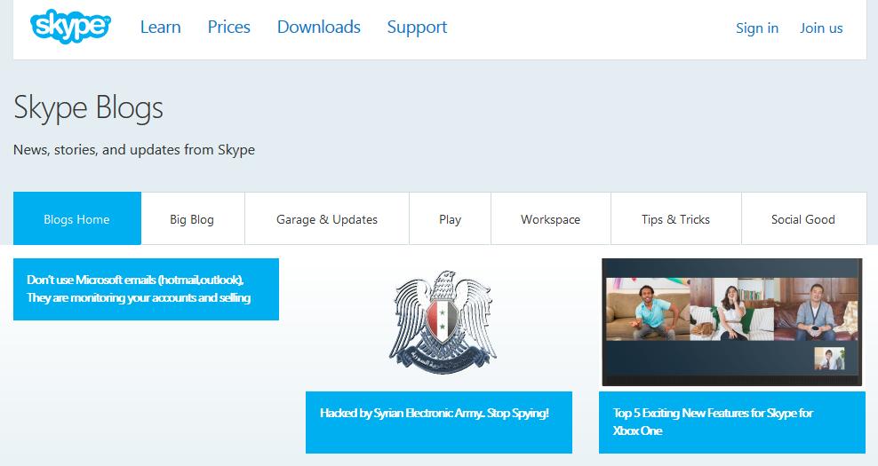 Skype Blog Pwn