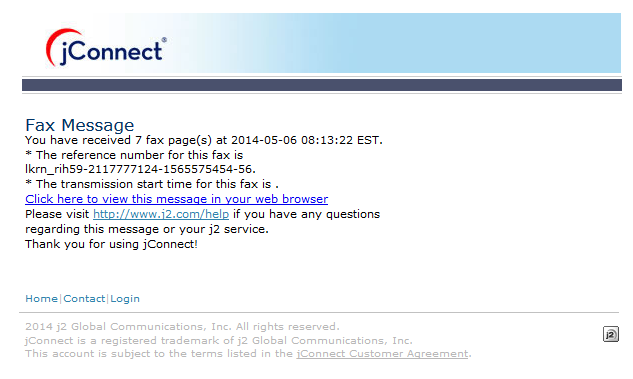 efax Spam