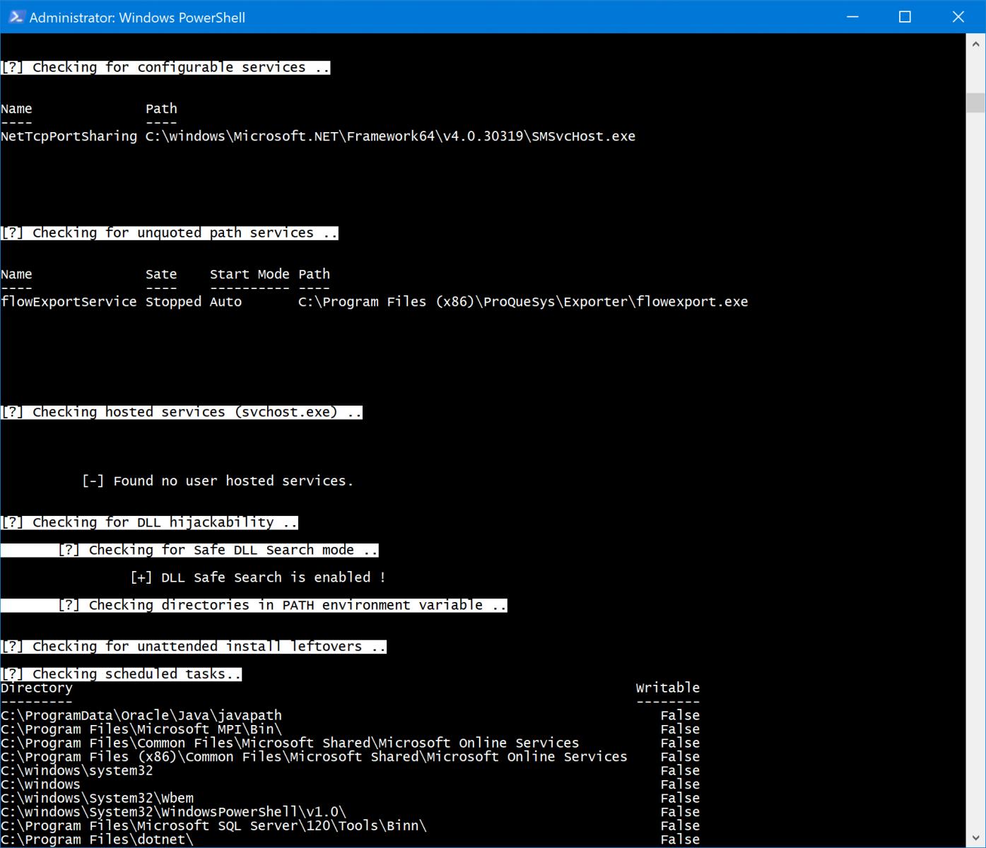 Windows Auditing with WINspect - SANS Internet Storm Center