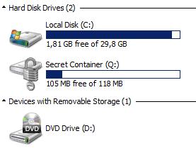 Virtual Bitlocker Containers - SANS Internet Storm Center