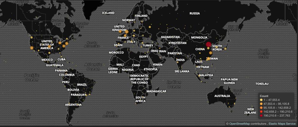 GoldBrute Map