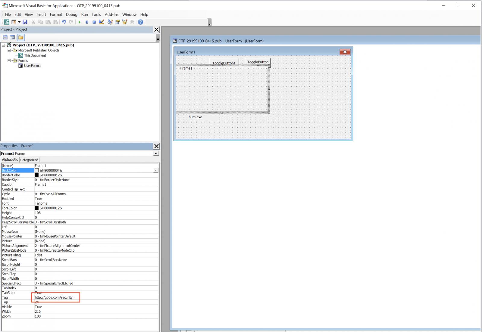InfoSec Handlers Diary Blog - Microsoft Publisher Files