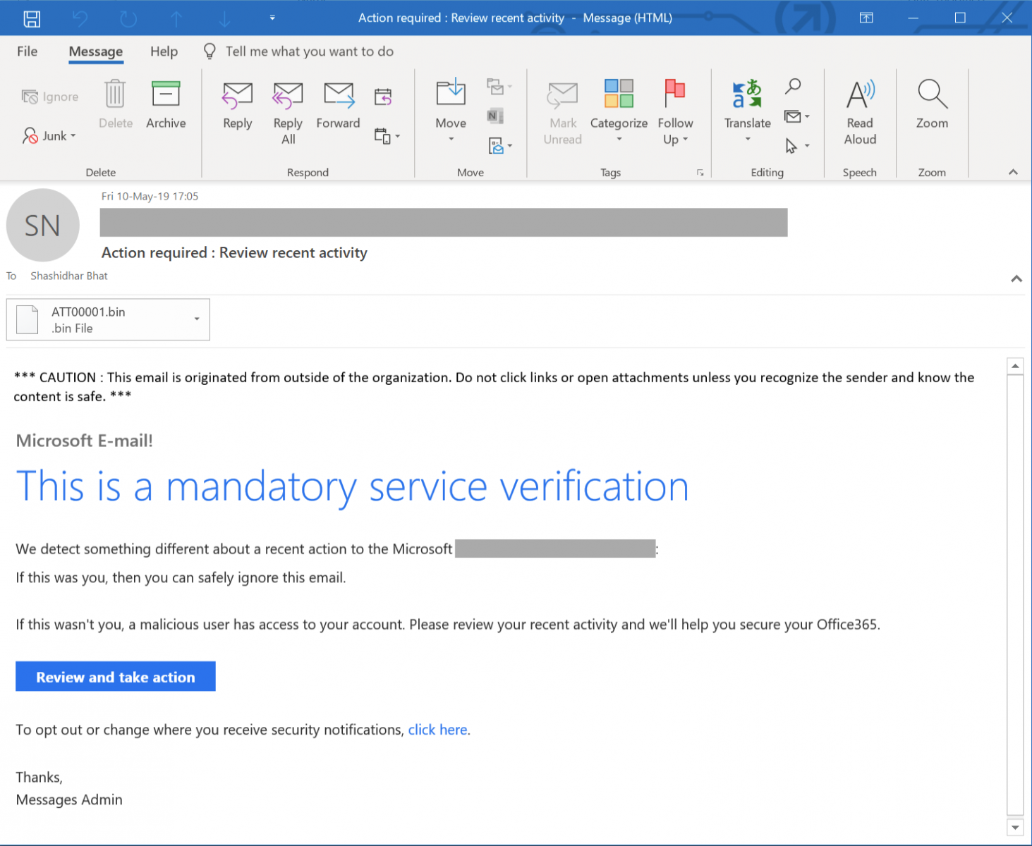 From Phishing To Ransomware? - SANS Internet Storm Center