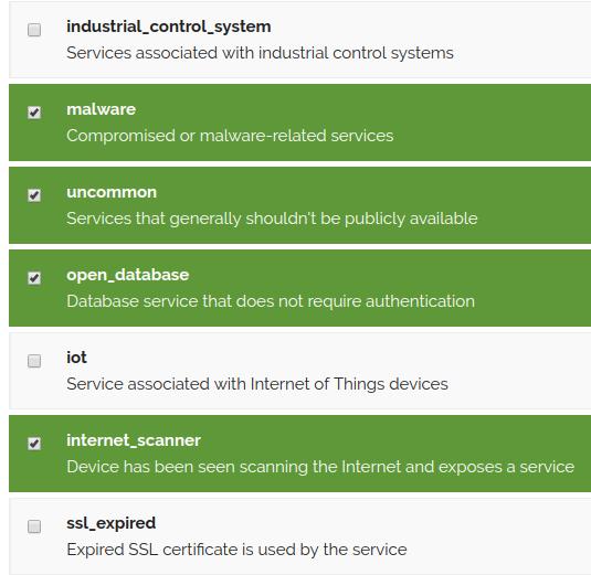 Using Shodan Monitoring - SANS Internet Storm Center