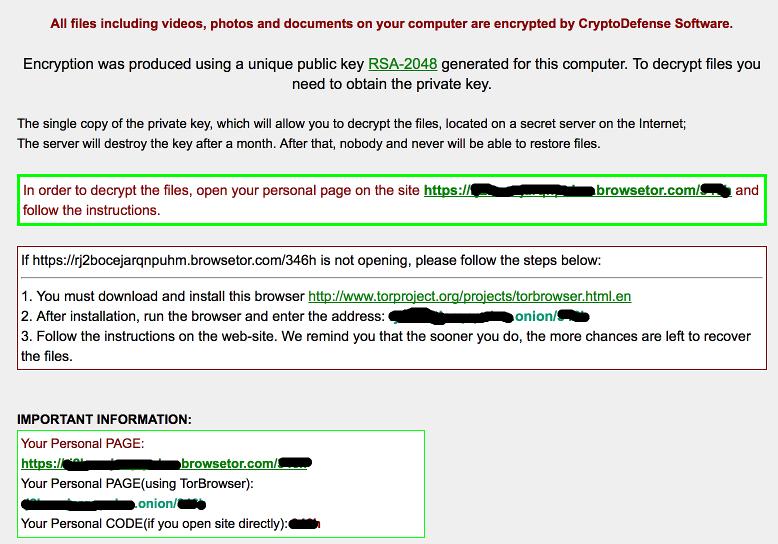 76f63c878b4 Dopad tohoto konkrétního malware může být zničující. Při pohledu na to