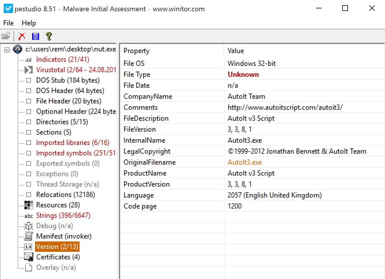 InfoSec Handlers Diary Blog - Malicious AutoIT script