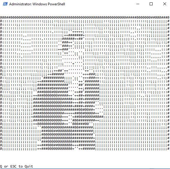 Rick ASCII