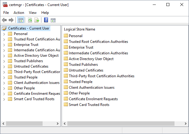 InfoSec Handlers Diary Blog - Keep An Eye on your Root Certificates
