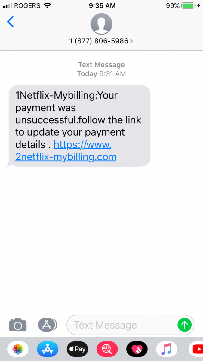 Combining Low Tech Scams: SMS + SET + Credit Card Harvesting