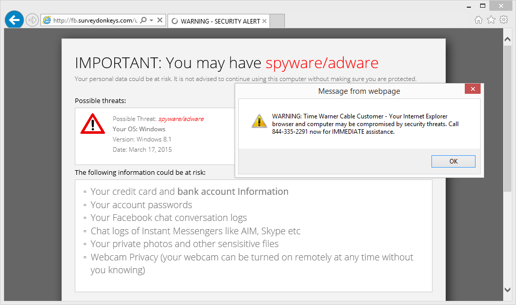 How Victims Are Redirected to IT Support Scareware Sites