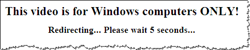 Windows Only