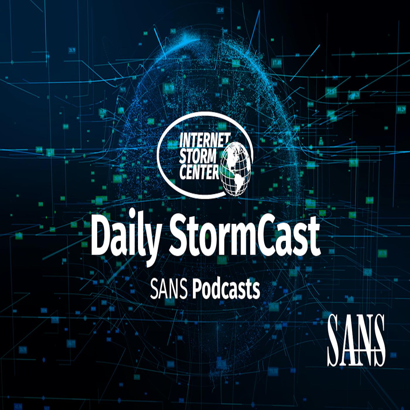 Internet Storm Center (ISC) Stormcast